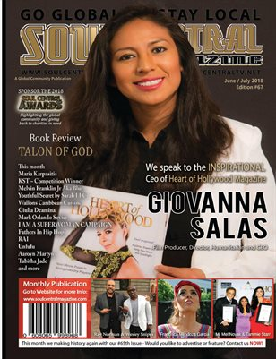 Soul Central Magazine Edition #67 CEO Giovanna Salas