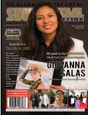 Soul Central Magazine Edition #67 CEO Giovanna Salas