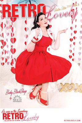 Retro Lovely Valentine 2019 - VOL 3 - Becky Blacksheep Cover Poster