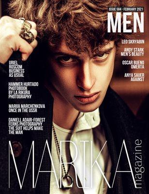 MARIKA MAGAZINE MEN (ISSUE 584 - February)