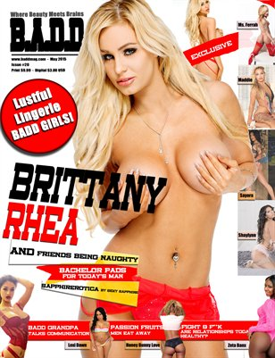 Lustful Lingerie (Brittany Rhea Issue)