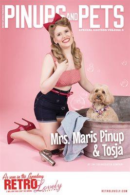 Pinups & Pets Vol. 6 – Mrs. Maris Pinup & Tosja Cover Poster