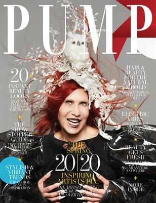 PUMP Magazine | Hair & Makeup Artist Edition | Vol.3 | April 2020