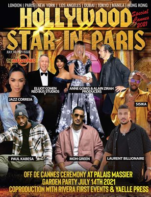 HOLLYWOOD STAR IN PARIS MAGAZINE JULY 2021