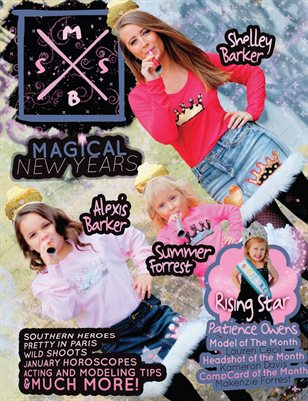 MB} Southern Sugar Talent & Model Magazine [January 2017]