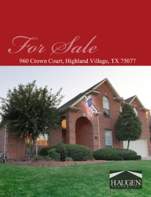 Haugen Properties - 960 Crown Court, Highland Village, Texas 75077