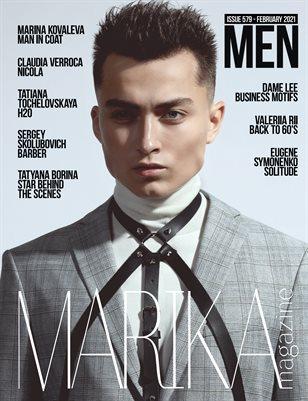 MARIKA MAGAZINE MEN (ISSUE 579 - February)