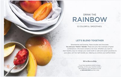 Drink the Rainbow - Vitamix Smoothies Recipe Book