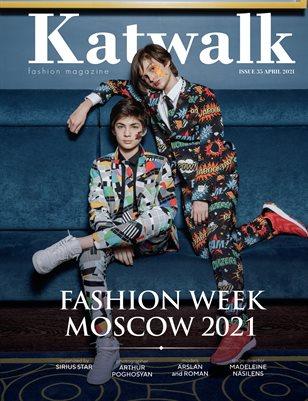 Katwalk Fashion Magazine Issue 35 April 2021