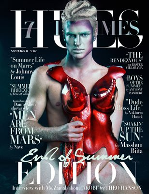 7Hues Hommes 'End of Summer Edition' N'02 - September 2019 - Cover 1