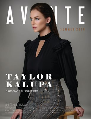 Taylor Kalupa Summer Issue 2019
