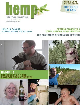 Hemp Lifestyle Magazine Issue 9 Print Copy