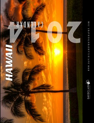 "2014 Calendar-Hawaii Edition 8.25"" x 10.75"""