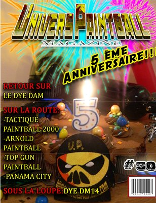 Univers Paintball #30 septembre 2014