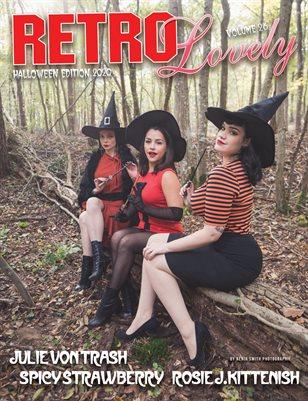 Halloween 2020 - VOL 26 – Julie Von Trash , Spicy Strawberry, Rosie J-Kittenish Cover