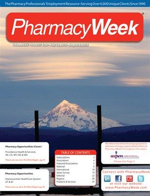 Pharmacy Week, Volume XXII, Issue 15, April 21-27, 2013