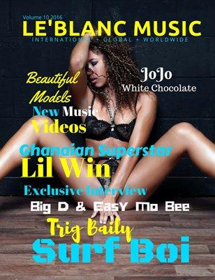 Le'Blanc Music Mag Vol. 10-JoJo