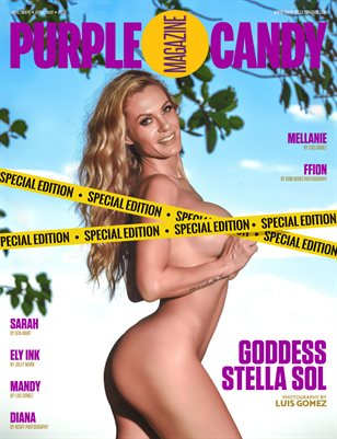 PURPLE CANDY MAGAZINE SPECIAL EDITION APRIL 2021