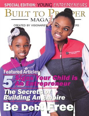 Built To Prosper Magazine Issue V