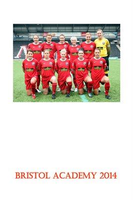 Bristol Academy Women - 2014