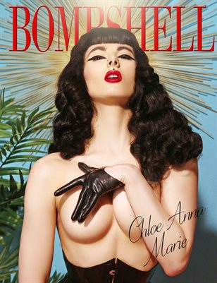 BOMBSHELL Magazine November 2018 BOOK 1 - Chloe Anna Marie Cover