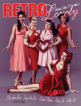 Retro Lovely Valentine's 2019 - VOL 1 – Holly Dai, Sissy Von Roo,  Mai Ann Ruin, Ruby Dee, Cookie Mama Cover
