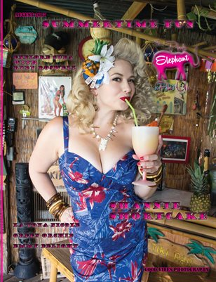 The Pink Elephant Pinup Summertime Fun Issue