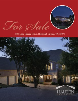 Haugen Properties -  808 Lake Breeze Drive, Highland Village, TX 75077