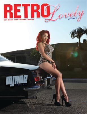 HOT RODS 2020 Vol 6 – Mjane Cover