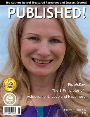PUBLISHED! Magazine featuring Pip McKay