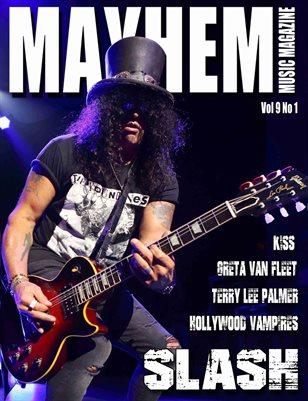 Mayhem Music Magazine Vol 9 No 1