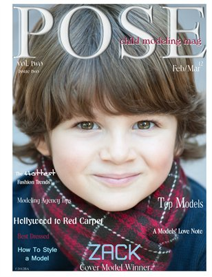 POSE child modeling mag Issue 2 Vol 2