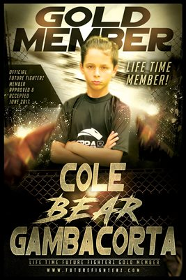 Cole Gambacorta Gold Member/Diploma Poster