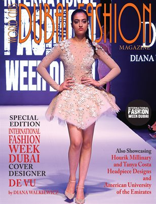 World Class Dubai Fashion Magazine with De Vu