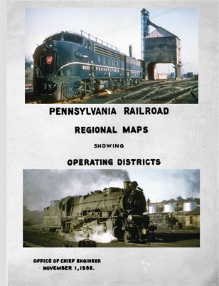 Pennsylvania Railroad Regional Maps