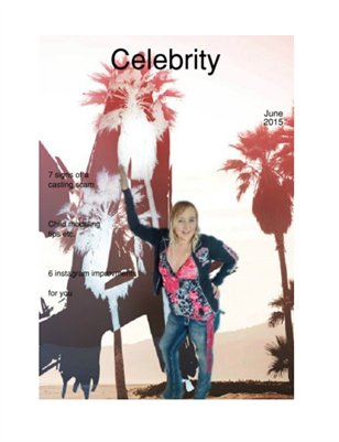 "Celebrity Magazine ""issue 4"""