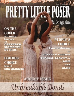 Pretty Little Poser Model Magazine - Issue 76 - Unbreakable Bonds - August 2021