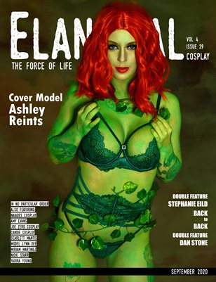 EVM4 Cosplay Poison Ivy Cover