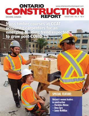 Ontario Construction Report (August 2020)