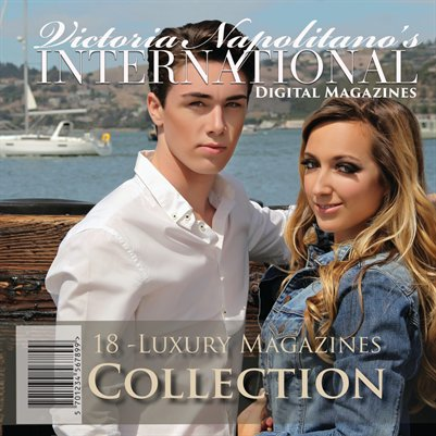 18 Luxury Magazine Collection