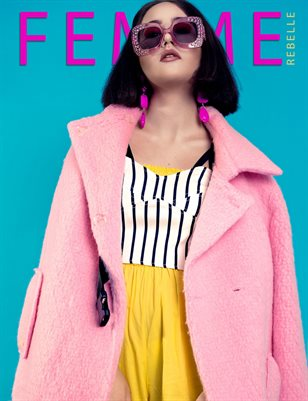 Femme Rebelle Magazine DECEMBER 2017 - BOOK 1 - Elena Prenaj Cover