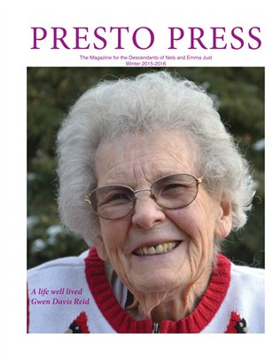 Presto Press, Winter 2015-2016
