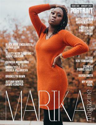 MARIKA MAGAZINE PORTRAIT (ISSUE 555 - January)