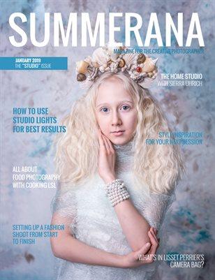 "Summerana Magazine| January 2019 | The ""Studio"" Issue"