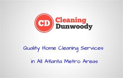 Cleaning Dunwoody in Marietta GA
