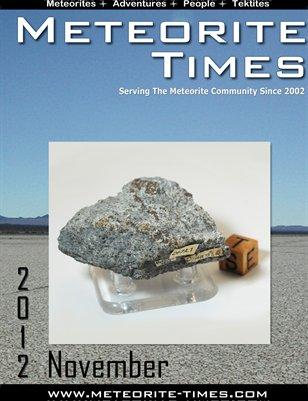Meteorite Times Magazine - November 2012