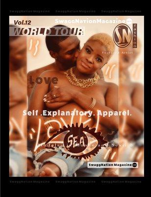 SwaggNationMagazine.com Vol.12 Variant Cover S.E.A. Brand