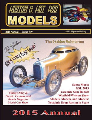 Kustom and Hot Rod Models #19 - 2015 Annual