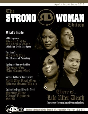 ReBirth Magazine Strong Woman Edition