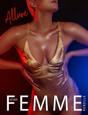 Femme Rebelle Magazine Oct 2019 ALLURE BOOK 2 - Justin Dean Cover